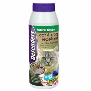 2-Defenders-Cat-amp-Dog-Scatter-Granules-450g-Bottle-Shaker-Cap-Repellent-150m2