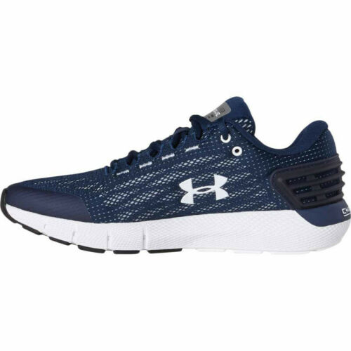 Under Armour Mens Charged Rogue Trainers Shoes Navy Blue 3021225-401 UK 6-10.5