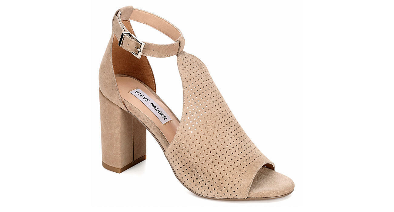 STEVE MADDEN WOMENS REDA - TAUPE - SUEDE