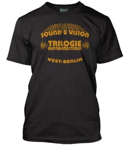 DAVID BOWIE inspired BERLIN TRILOGY Sound /& Vision Men/'s T-Shirt