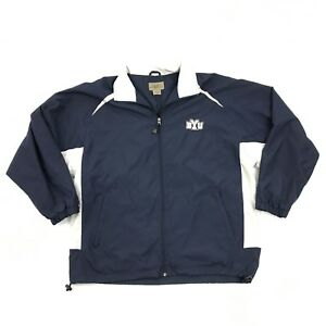 BYU Cougars Jacket Size Extra Large Brigham Young University Windbreaker Zip Up