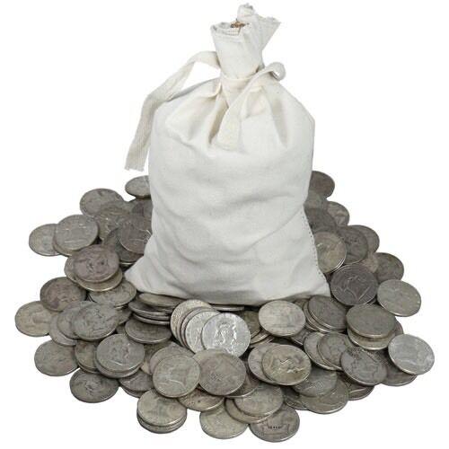 MAKE OFFER! 1 TROY POUND LB LOT 90/% SILVER COINS KENNEDY /& WASHINGTON 1964 BUY