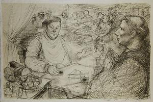 Lucien-Philippe-MORETTI-Lithographie-signee-Le-braconnier-de-Dieu-planche-12
