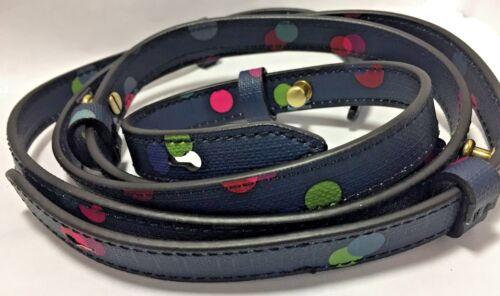 Fossil Crossbody Strap Rachel Replacement Navy Blue Polka Dot Handbag SL7288400