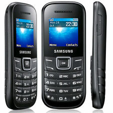 Samsung GT-E1200i Mobile Phone Brand New Sim Free Cheap & Basic in Black