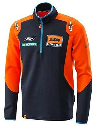 New KTM Replica Team Thin Sweater Half Zip Navy//Orange Multiple Sizes Available