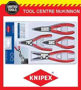 KNIPEX-00-20-03-V02-4pce-INTERNAL-amp-EXTERNAL-CIRCLIP-PLIER-SET-MADE-IN-GERMANY