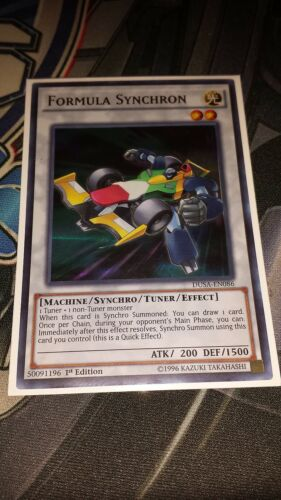 Ultra Rare 1st Edition Formula Synchron DUSA-EN086 M//NM Yugioh