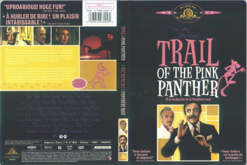 1 of 1 - Trail Of The Pink Panther (DVD, 2005)