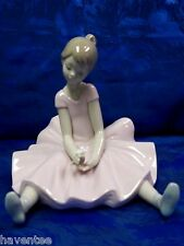 DREAMY BALLET SPECIAL EDITION PINK DRESS GIRL 2013 FIGURINE NAO BY LLADRO  #1784
