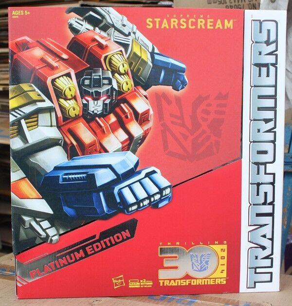 Hasbro Transformers 2014 Caballo año Estrellascream Figura de edición platino