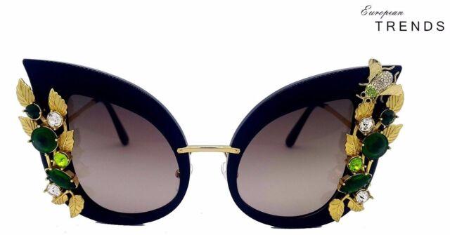 ab9219943a8 DOLCE GABBANA DG4293B SPECIAL COLLECTIONS Botanical Garden Swarovski  Sunglasses