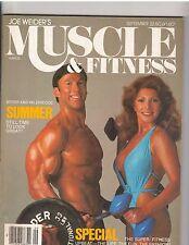MUSCLE & FITNESS bodybuilding magazine Boyer + Valerie Coe 9-80