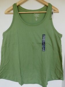 NWT-Gap-Women-039-s-Light-Weight-Tank-Top-Green-Sizes-XS-S-M-Free-Shipping-New