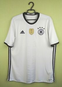 422b5546da7 Image is loading Germany-jersey-shirt-2016-Home-official-adidas-football-