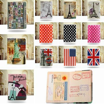 Novel PVC Passport Holder Travel Case Popular Cover Case Bag Organizer Wallet