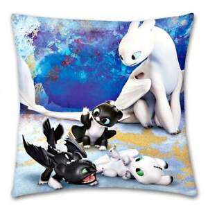 Dragons-how-to-Train-Your-Pillow-Cuddle-Decorative-Cushions-40x40-Blue