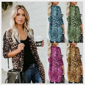Fashion-Womens-Long-Sleeve-Sweater-Top-Casual-Cardigan-Outwear-Coat-Jacket-Lot