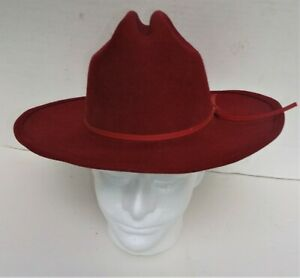 "Master Hatters Men/'s Captain Low Cattleman 4/"" Pro Rodeo 20X Cowboy Hat"