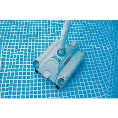 Intex Automatic Above Ground Swimming Pool Vacuum Cleaner 28001e Used 78257306589 Ebay