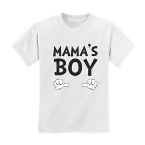 8f22db35c Mama's Boy - Children's Cute Gift for Mother's Day Kids T-Shirt For ...