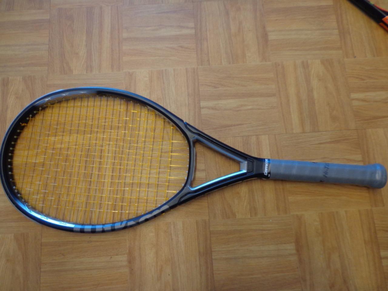Wilson Triad 3 3 3 Midplus 100 4 1/2 grip Tennis Racquet 3bd819