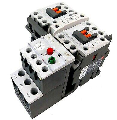 LSis Reversing Motor Starter 10HP @ 480V 12-18 Amp Overload 120V Coil UL