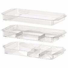 IKEA GODMORGON Make Up-impilabile Organizer Storage Box * Set di 3 * - 401.649.47