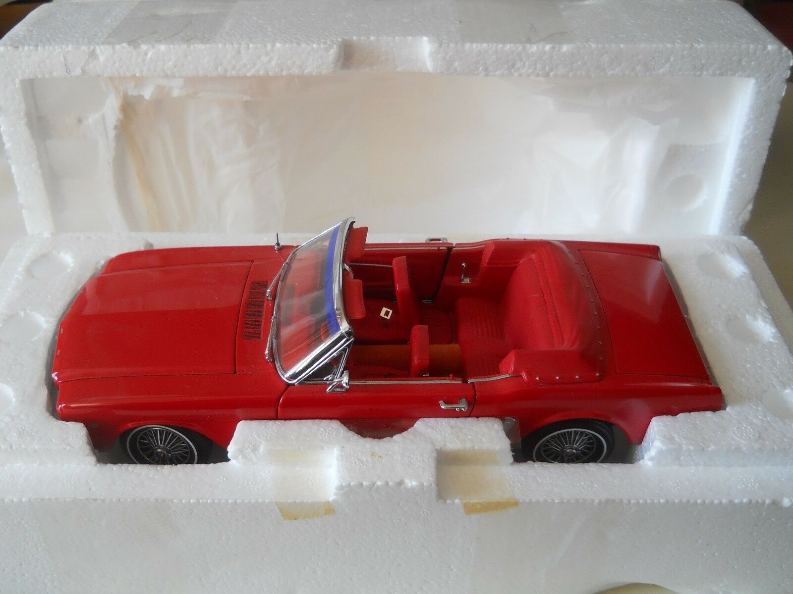 Precision 100 1964 1 2 Ford Mustang Congreenible 1 18 Diecast
