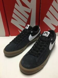 official photos 84e62 681c6 Image is loading New-Nike-SB-Blazer-Low-GT-Black-White-