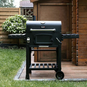 CosmoGrill-Barbecue-BBQ-Outdoor-Charcoal-Smoker-Portable-Grill-Garden-124x66x114