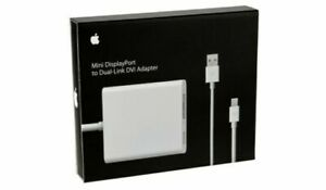 Apple MB571Z/A Mini Display Port to Dual Link DVI Adapter - White