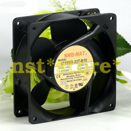 for 1PC NMB-MAT 4715MS-23T-B10 230V 12038 6.5//6W Durable Quiet Cooling Fan