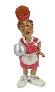 Waitress Character - GRUMPY JON FIGURINE - 16-440 - LB