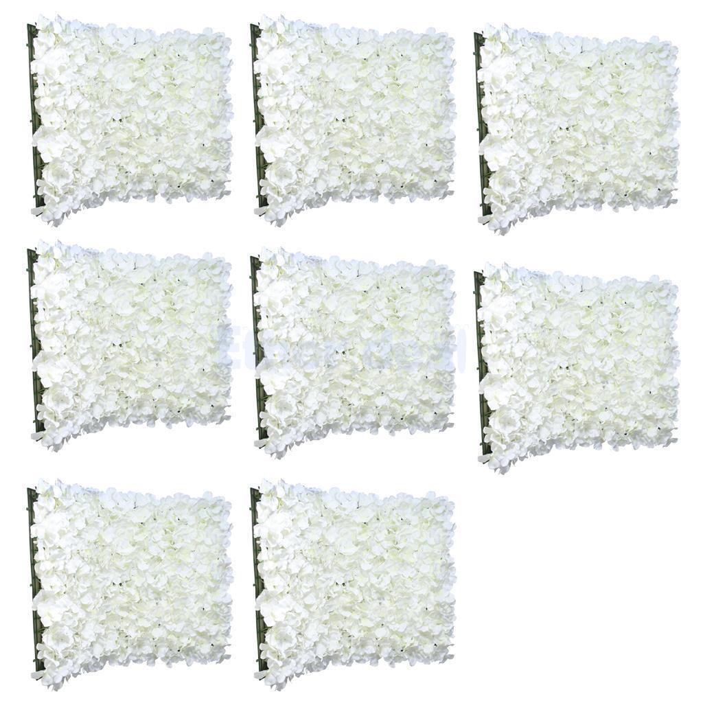 8 pièces Art Fleurs Panel, künstlliche fleurs pour