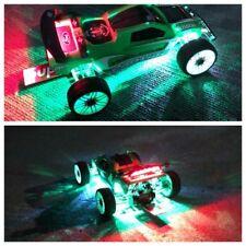2 LED LIGHT KIT Fits T E Maxx xxx-t Tc3 Losi Mini B4 Blue