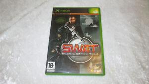 XBOX-SWAT-Global-Strike-Team-jeu-video-Francais-complet-en-boite