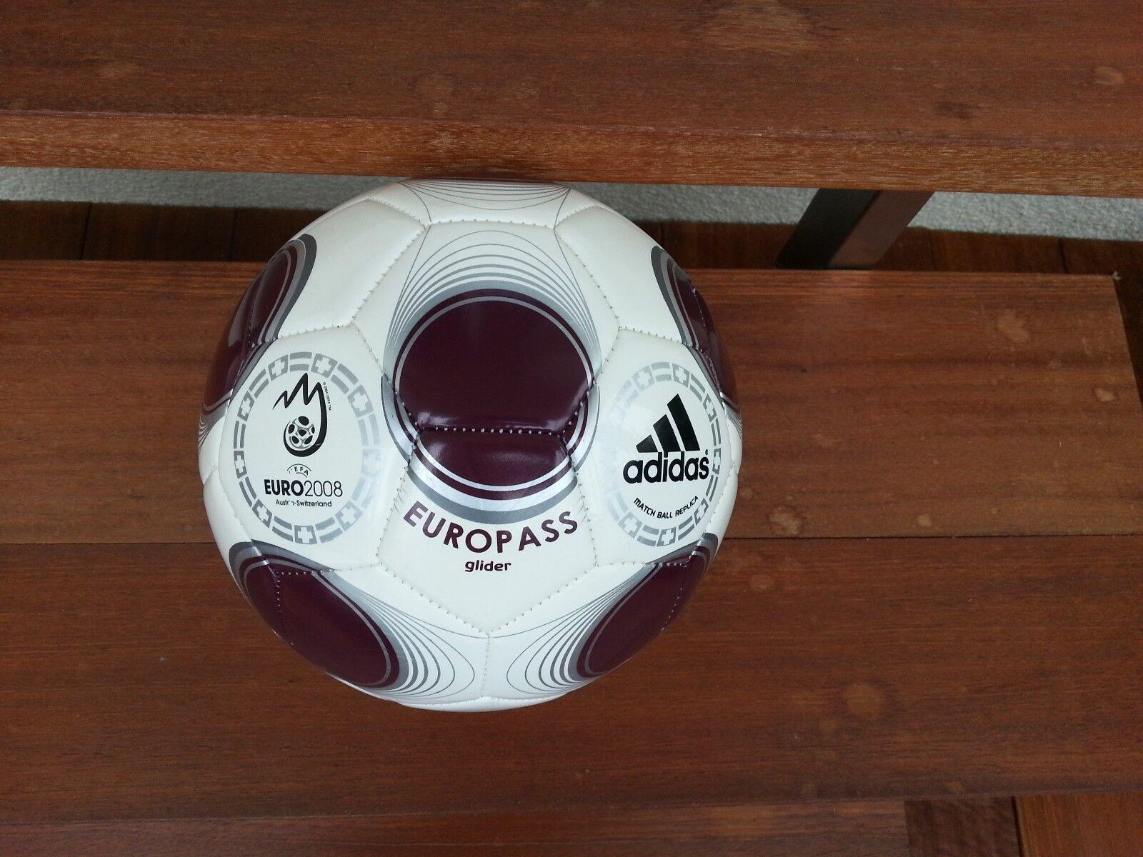 Original Original Original Adidas EUROPASS glider Match Ball Replica Euro 2008 neu Größe 5 b9fdf8