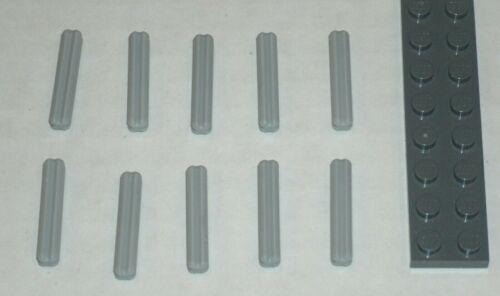 4211815 Brick 4519 10x LEGO NEW Light Bluish Grey Axle 3