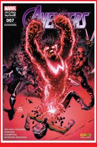 AVENGERS-7-07-Janv-2018-Panini-Marvel-Iron-Man-Stegman-NEUF
