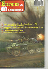"HISTOIRE&MAQUETTISME N°05  LIGHT ARMORED CAR M8 ""GREYHOUND"" / LE LATECOERE 631"