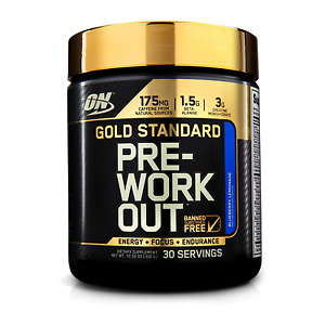 OPTIMUM NUTRITION GOLD STANDARD PRE-WORKOUT 30 SERVE // ENERGY // NITRIC PUMP