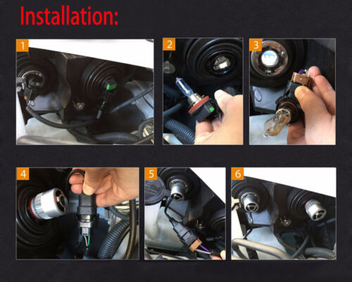 4Pcs Car H7+9005 HB3 144W LED Headlight Kit Light Bulb For Mazda CX-7 2012-2007