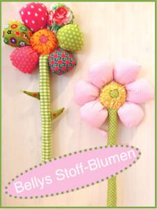 Bellies Stoff Blumen Schnitt Und Anleitung Ebay