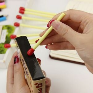 5pcs-Stationery-Cute-Mini-Matchstick-Pen-School-Office-Ballpoint-Pens