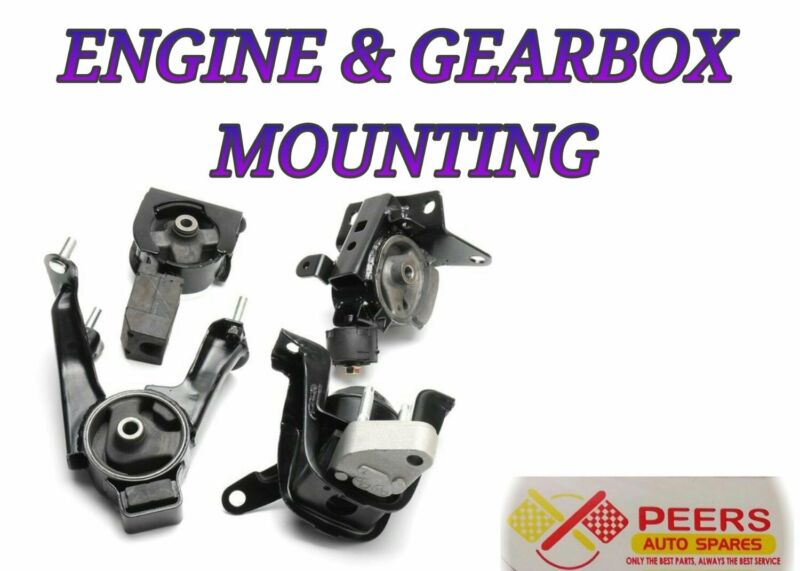 ENGINE AND GEARBOX MOUNTING FOR MOST VEHICLES
