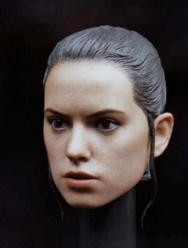 1//6 Daisy Ridley Head Sculpt Custom For Star Wars Rey Hot Toys Phicen Body ❶USA❶