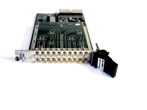 Pickering Card 40-872-004 PXI Quad 4 to 1 RF Multiplexer 3GHz 50 Ohm SMB