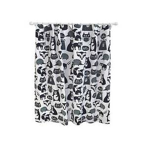 Forest Friends Fabric Shower Curtain Woodland Creatures Pillowfort