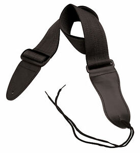 On-Stage-2-034-Black-Poly-Guitar-Strap